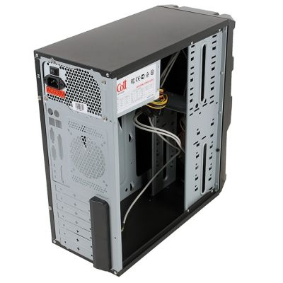 Корпус 3Cott 3C-ATX110GB 500W Black