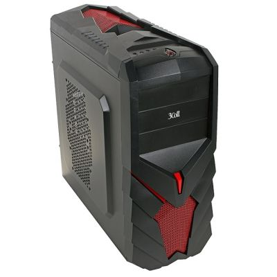Корпус 3Cott 3C-ATX129G 700W Black