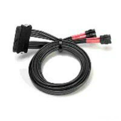 Кабель Adaptec для подключения контроллера ACK-I-mSAS*4-to-4SATA*1-SB-1M (2247100-R)