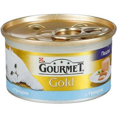 Консервы Gourmet Gold для кошек паштет тунец 85г (упак. 24 шт) (12032393)