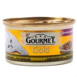 Консервы Gourmet Gold для кошек Дуо кролик/печень 85г (упак. 24 шт) (12032395)