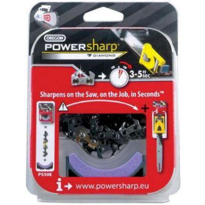 """Набор Oregon Цепь PowerSharp® .3/8"""" — 55 зв. (STIHL) + Камень-вставка PS55E"""