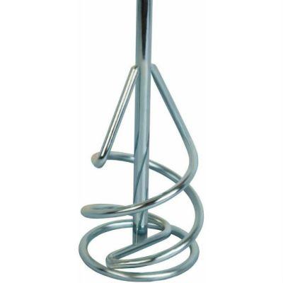 Практика Насадка для перемешивания хвостовик SDS-plus, 80 х 400, гипсовые и цементно-песчаные смеси 645-730