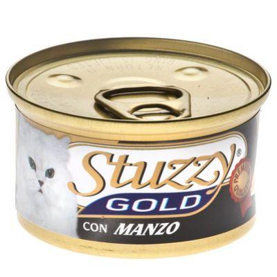 Консервы Stuzzy Gold для кошек говядина 85г