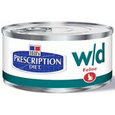 Консервы Hills w/d для кошек (лечение диабета, поддерж. веса) 156г (9455YZ)
