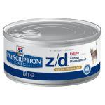 Консервы Hills z/d Ultra для кошек (лечение острых пищевых аллергий) 156г (5661YZ)