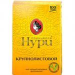 Чай Принцесса Нури Крупнолистовой 100г.чай лист.черн.Н 0314-36