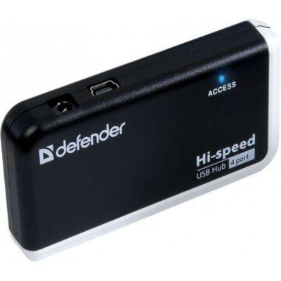 Аксессуар Defender USB-концентратор 4-port USB2.0 QUADRO INFIX 83504