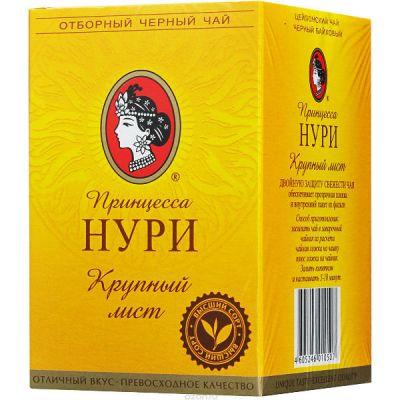Чай Принцесса Нури ГОСТ 1938-90 100г.чай лист.черн. 1050-48