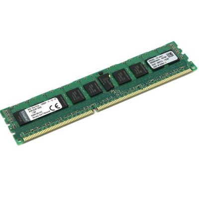 Оперативная память Kingston DDR3L 8Gb 1600MHz Kingston ECC RTL Intel CL11 SR X4 1.35V Reg KVR16LR11S4/8I