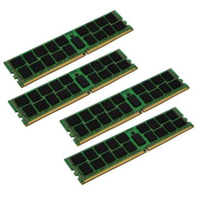����������� ������ Kingston DDR4 2133 DIMM 288 pin, 4x16 ��, ��������������, ECC, 1.2 �, CL 15 KVR21R15D4K4/64
