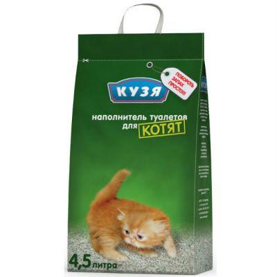 Наполнитель Кузя для котят 4,5л
