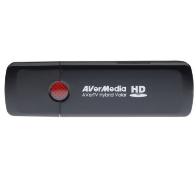 AVerMedia Тюнер-ТВ FM внешний USB/RCA PDU HomeFreeTV APP Available! AVerTV Hybrid Volar HD