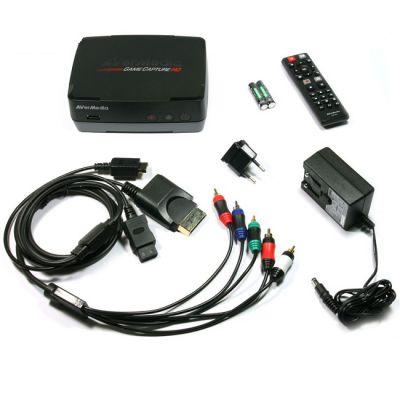 AVerMedia ����� ������������ ������� USB/S-Video/RCA PDU Stand alone capture Box Game Capture HD