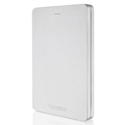 Внешний жесткий диск Toshiba Canvio Alu 2Tb Silver HDTH320ES3CA