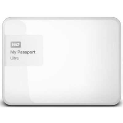 Внешний жесткий диск Western Digital My Passport Ultra 1TB, White WDBDDE0010BWT-EEUE