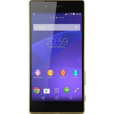 Смартфон Sony Xperia Z5 Dual 32Gb LTE Золотистый E6683Gold