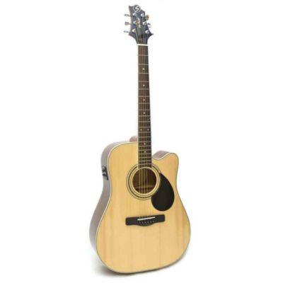 Электроакустическая гитара Greg Bennett GD100SCE/N