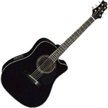 Электроакустическая гитара Greg Bennett D9CE/BK