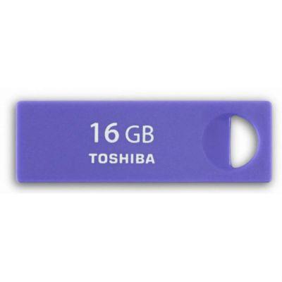 Флешка Toshiba 16GB USB Drive <USB 2.0> TransMemory Enshu purple (THNU16ENSPUR(6)