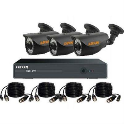 Комплект видеонаблюдения Каркам A6004-770-3
