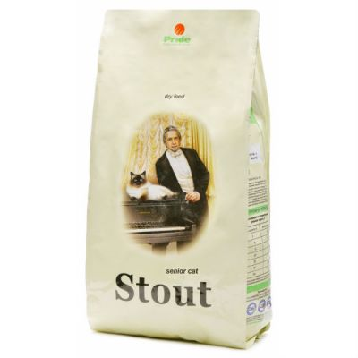 Сухой корм Стаут для кошек почтенного возраста упак. 0.3кг