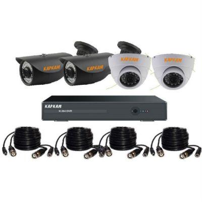 Комплект видеонаблюдения Каркам A6004-735-2-770-2
