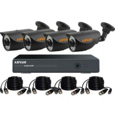 Комплект видеонаблюдения Каркам A6004-770-4