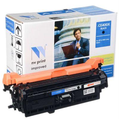 Расходный материал Совместимый картридж NV Print CE400X