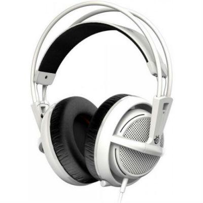 Наушники с микрофоном SteelSeries Siberia 200 White