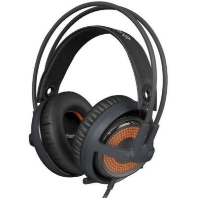 Наушники с микрофоном SteelSeries Siberia v3 Prism серый