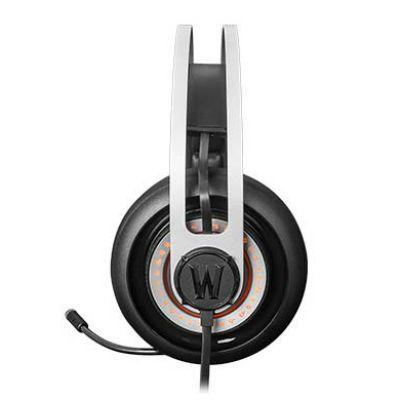Наушники с микрофоном SteelSeries Siberia Elite World of Warcraft черный/серебристый