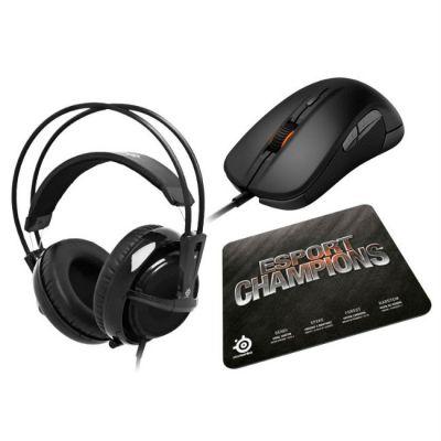 Наушники с микрофоном SteelSeries Champions Bundle (игровой комплект)