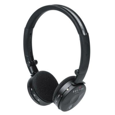 Наушники с микрофоном Oklick беспроводные BT- LB601 черный