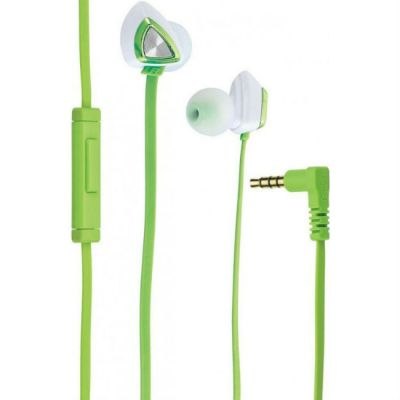 Наушники с микрофоном Genius HS-M250 green