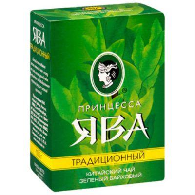 Чай Принцесса Ява Традиционный 100г.чай .лист.зел. 0119-64