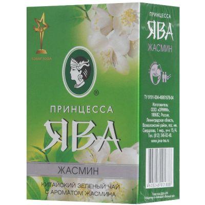 Чай Принцесса Ява Жасмин 100г.чай лист.зел.аром. 0188-64