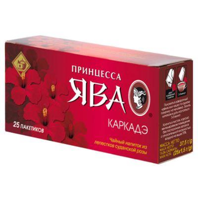 Чай Принцесса Ява Каркадэ (1,5гх25п) чай.нап.пак. 0350-48