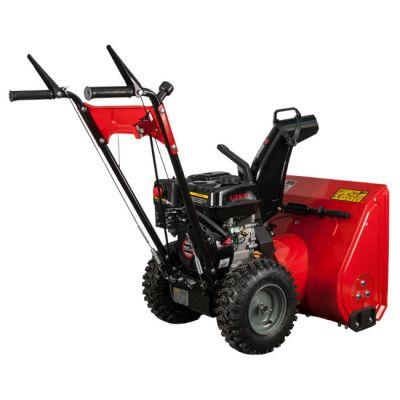 Снегоуборщик DDE ST6560L (двигатель Loncin 6,5 л.с., 24 , 3 вперёд/1 назад, 13 колёса, управление выбросом - предустановка) ST6560L-13-DIY