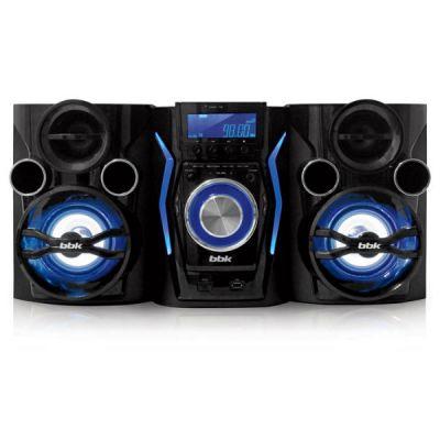 Аудиоцентр BBK AMS110BT черный/темно-синий