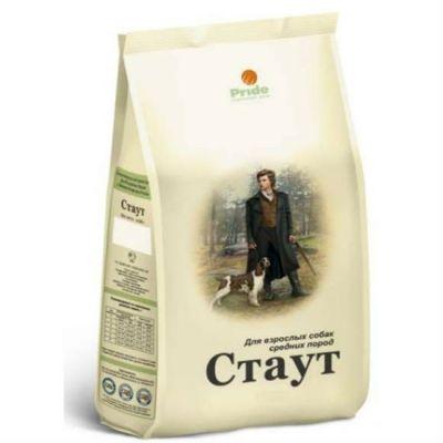 Сухой корм Стаут для взрослых собак средних пород упак. 0,5кг