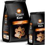 Сухой корм Терра Кот для взрослых кошек (с цыпленком) упак 2 кг