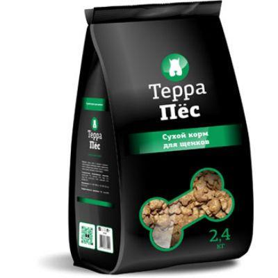 Сухой корм Терра Пес для щенков упак 2.4 кг