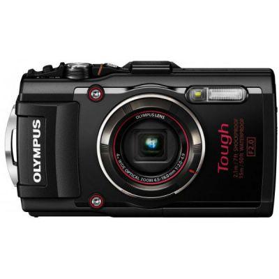 Компактный фотоаппарат Olympus TG-4 TG-4/Black