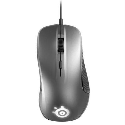 Мышь проводная SteelSeries Rival 300 серебристый 62350