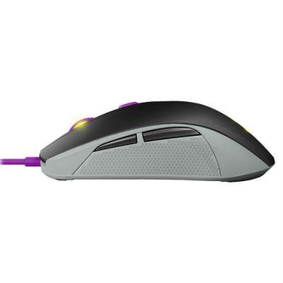 Мышь проводная SteelSeries Rival 100 Sakura черный/фиолетовый