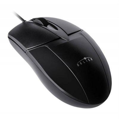 Мышь проводная Oklick 145M черный