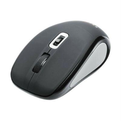 Мышь беспроводная Oklick 425MW черный/серый