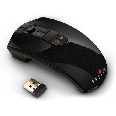 Мышь беспроводная Oklick 805M черный
