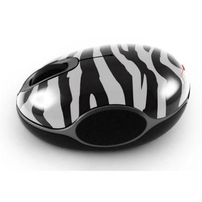 Мышь беспроводная Oklick 535XSW черный/белый